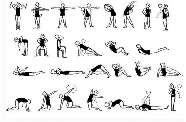 Упражнения александры бониной для грудного остеохондроза