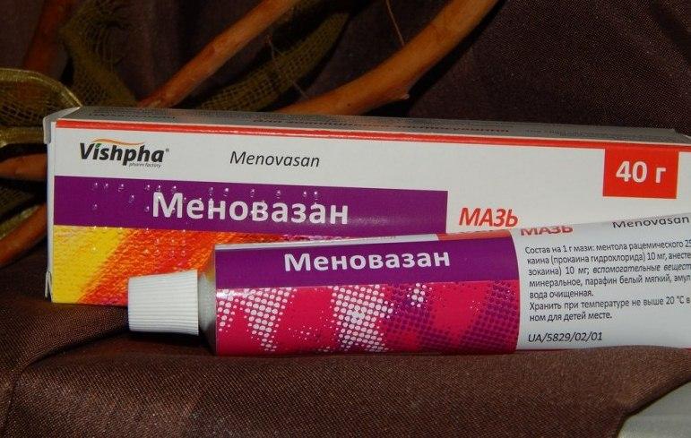 Меновазин при остеохондрозе шейном - SustavyBol