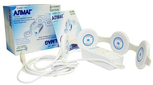 Лечение шейного остеохондроза аппаратом алмаг 01