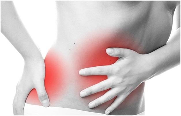 С детства у меня гастрит иногда болит спина