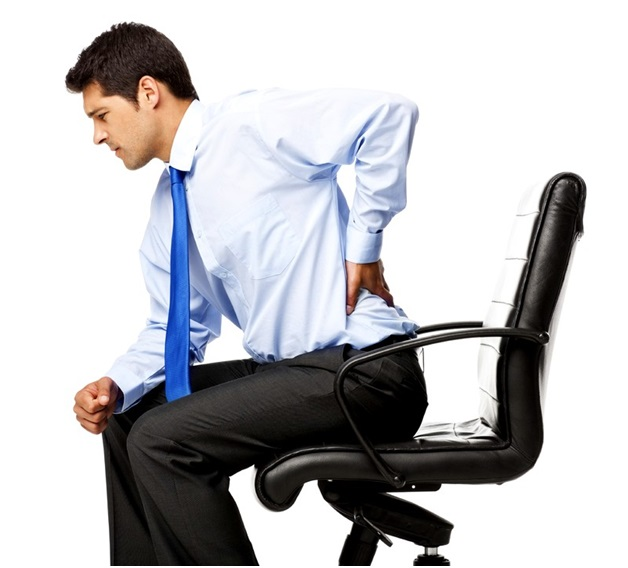 Боль в пояснице после сидения на стуле
