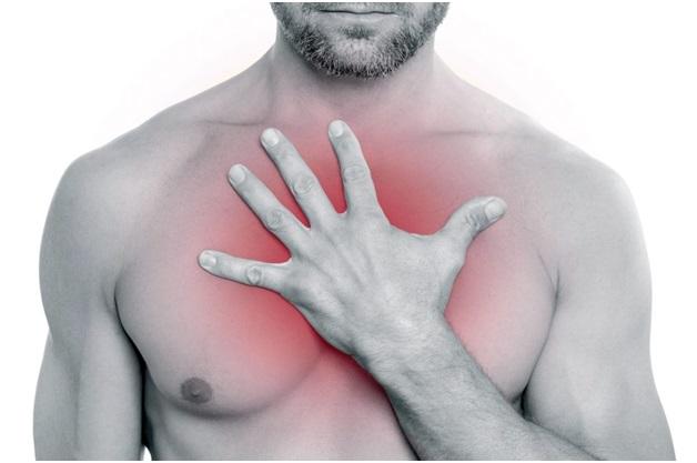 Болит спина слева где сердце