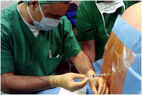 Анестезия в позвоночник при операции последствия какие болезни
