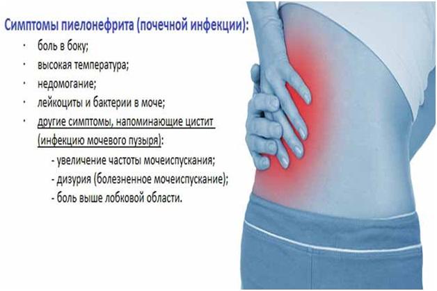 У женщины болит низ живота и спина
